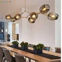 Modern Luxury Magic Bean Branch Pendant Lighting  Lamps Lights Italian Hanging Lamps Dining Room Kitchen Avize недорого
