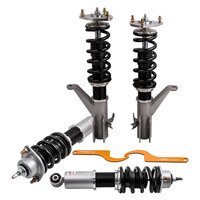 Adjustable Coilover Suspension For Honda Civic EM2 2001 2005 Kit fit DC5 EP3 FIT Acura RSX
