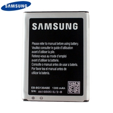 Original Replacement Phone Battery EB-BG130ABE For Samsung Galaxy Star 2 Pro Star2 G130 With NFC Authenic 1300mAh