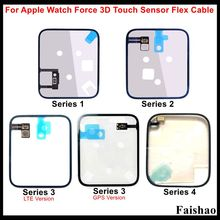 FaiShao Force 3D Touch Sensor Flex Cable For Apple Watch Series 1 2 3 4 Gravity Induction Sense Coil 38mm 42mm 40mm 44mm