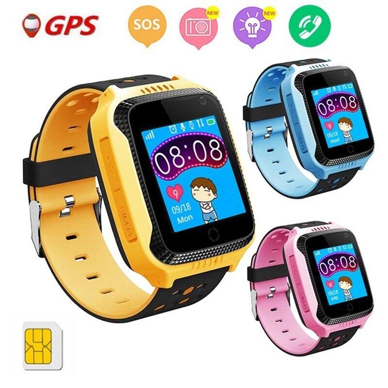 COXRY Kids Watch GPS Location Tracker SOS Call Touch Screen Smart Baby Watch For Boys Girl Safe Camera Flashlight Clock Children