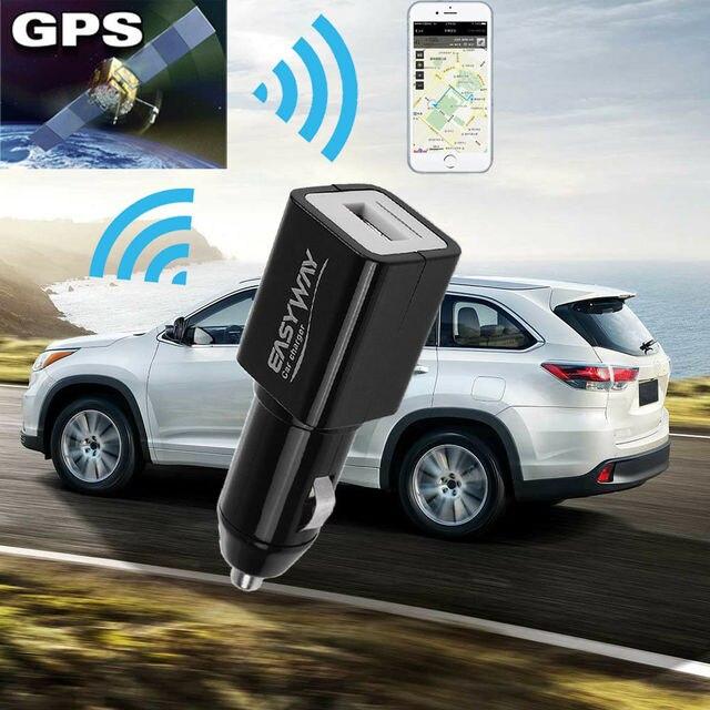 Thời Gian thực Spy GPS Tracker Sạc Xe Hơi Phong Cách Toàn Cầu Định Vị GSM Theo Dõi USB