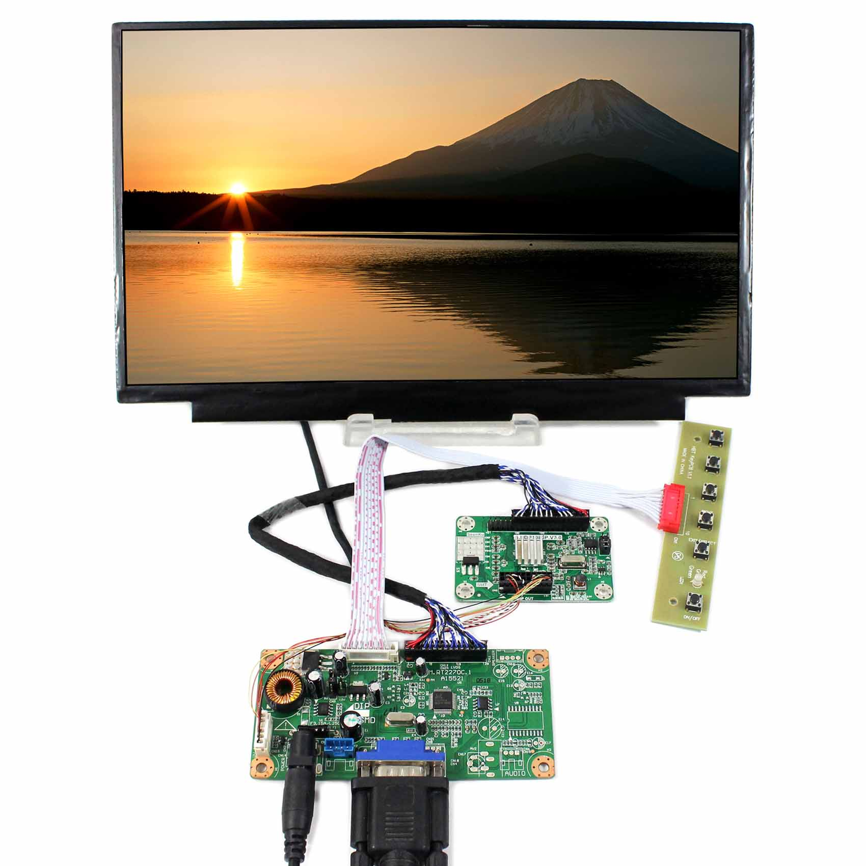 VGA LCD Controller Board RT2270 N116HSE-EJ1 EA1 11.6inch IPS LCD Screen 1920x1080 Resolution цена