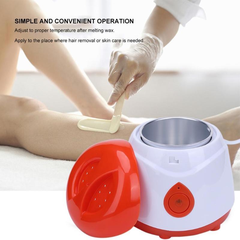 Professional ABS Warmer Wax Heater Mini SPA Hand Feet Epilator Rechargeable Machine Body Depilatory Hair Removal Tools