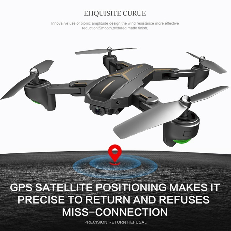 VISUO XS809HW Upgrade XS812 GPS Drone Folding Selfie Dron with HD  5G WIFI FPV Camera Quadrocopter RC Drones One Key ReturnVISUO XS809HW Upgrade XS812 GPS Drone Folding Selfie Dron with HD  5G WIFI FPV Camera Quadrocopter RC Drones One Key Return