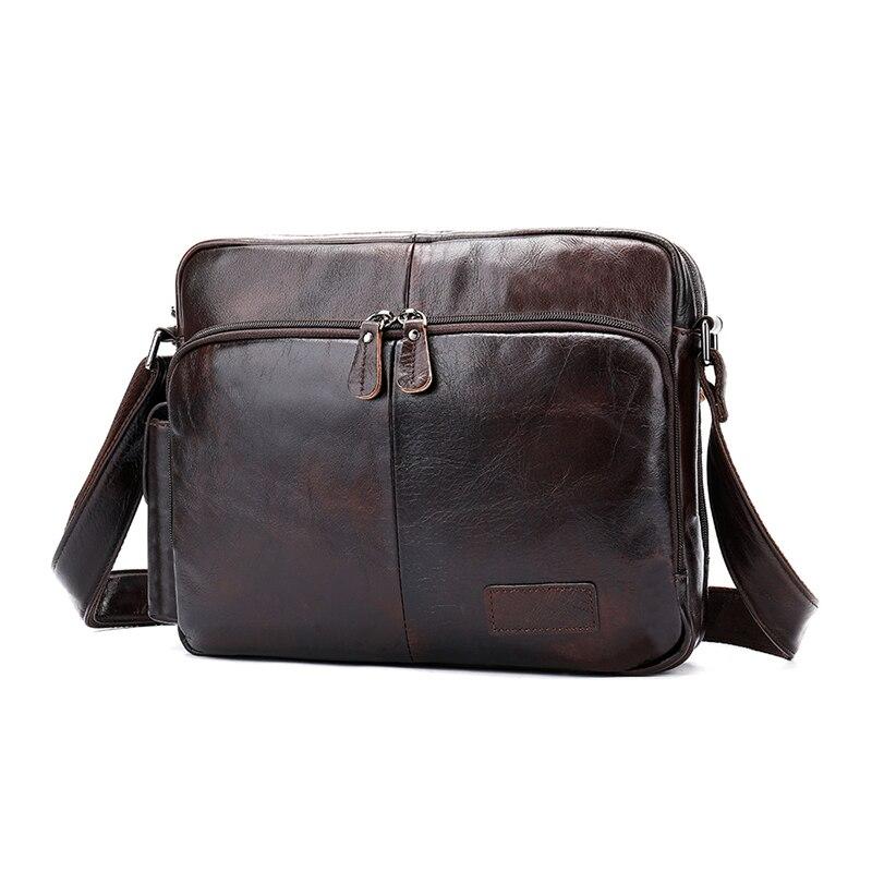 Mva Vintage Casual Shoulder Bag cowhide Crossbody Bag Fashion Handbag Business BriefcaseMva Vintage Casual Shoulder Bag cowhide Crossbody Bag Fashion Handbag Business Briefcase