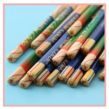 NEW 24/30 creative painting four-color triangle core childrens prize color pencil Affordable