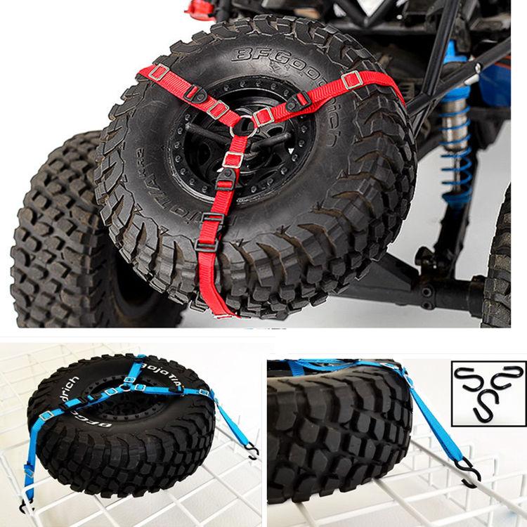 RC Crawler Spare Tire Wheel Anti-Slip Belt For RC Car Traxxas Axial SCX10 RR10 90050 TRAXXAS UDR LOSI BAJA 1PCS
