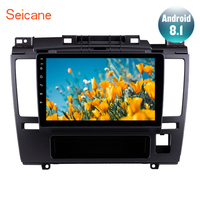 Seicane Android 8.1 9 Inch HD Touchscreen Car Radio GPS Navigation For 2005 2006 2007 2010 Nissan Tiida with Bluetooth AUX Wifi