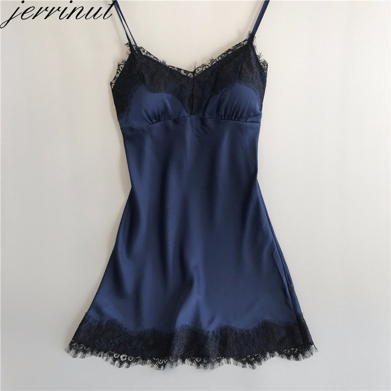 Jerrinut Women's Sleep Lounge Lingerie   Nightgowns     Sleepshirts   Ladies Night Dress Sleepwear Nightie Sexy Nighty Female Nightwear