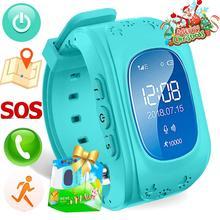 цена на GPS Kids Smart Watch SOS Tracker Android/IOS 2G/3G Network Phone Watch Bluetooth Anti-Lost Monitoring Children Boy Smart Watches