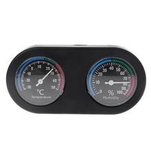 Рептилий Танк термометр гигрометр Температура Влажность монитор для Vivarium террариума