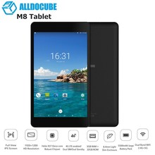 ALLDOCUBE M8 8 inch 4G Phone Call Tablets MT6797X Helio X27 Deca Core 1200*1920 IPS Screen Android 8.0 3GB+32GB Tablet PC