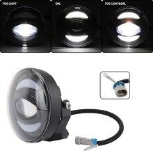 Новый Белый DRL 12 в 30 Вт внедорожный светодиодный противотуманный светильник для внедорожников, автомобилей, рыбалки, лодок, светильник ing