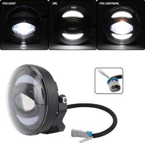 Image 1 - Новый Белый DRL 12 в 30 Вт внедорожный светодиодный противотуманный светильник для внедорожников, автомобилей, рыбалки, лодок, светильник ing