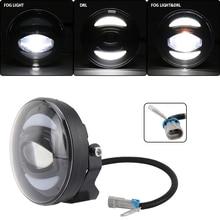 ใหม่สีขาว DRL 12V 30 วัตต์ไฟ LED หมอกสำหรับรถออฟโรดเรือประมงแสง