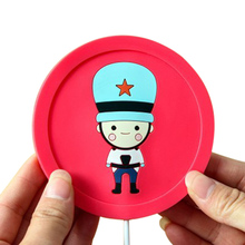 Cartoon creative silicone electric Insulation coaster USB warm cup heating device Office Coffee Tea Warmer Pad Mat creative office usb powered heat preservation mat cookie shape cup warmer