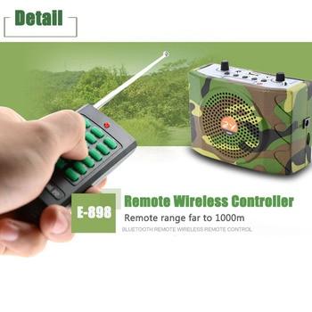 مكبر صوت محمول لاسلكي 38 وات يعمل بجهاز تحكم عن بعد مكبر صوت تعليمي راديو إف إم ويو إس بي ويفك التشفير بصوت عالي ومتحدث طائر ومتصل MP3