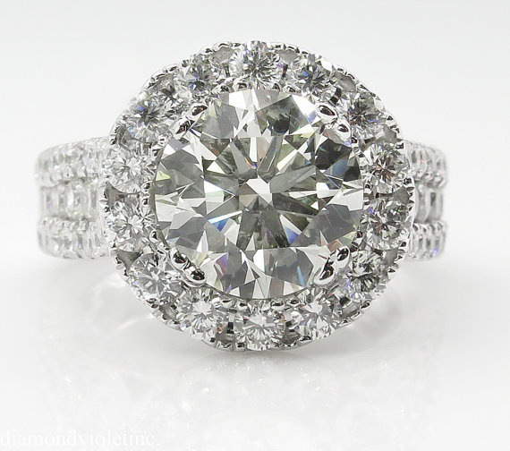14K White Gold Diamond Rings Jewelry for Women Bizuteria Anillos Bague Jaune Ring Diamante Diamond Gemstone 14K White Gold Diamond Rings Jewelry for Women Bizuteria Anillos Bague Jaune Ring Diamante Diamond Gemstone 2 carats topaz rings