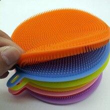 LODESTAR Силиконовое блюдо Bursh чаша Cheaning кисти для кухни Чистка антибактериальное средство кухня Housework полотенце тряпка