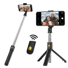 New PortableTripod Phone Camera With Wireless Bluetooth Remote Self-Timer Artifact Rod For IOS Andriod Phones Gopro