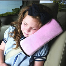 On Sale Baby Car Auto Safety Seat Belts Harness Shoulder Pad Children Protection Cover Cushion Support Pillow(China)
