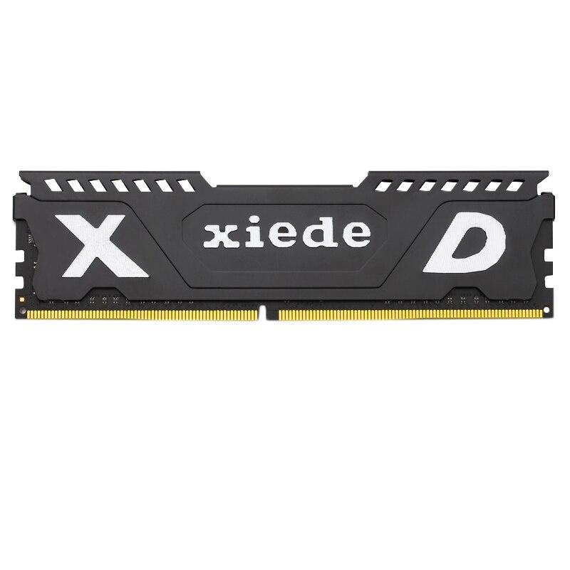 Xiede ordinateur de bureau mémoire Ram Module Ddr4 2400 Pc4-19200 288Pin Dimm 2400 Mhz avec dissipateur de chaleur pour Amd/Inter