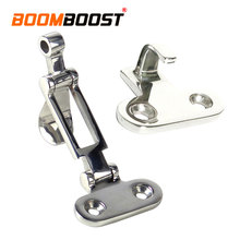 1 Set Hinge  Locker Stainless Steel Silver Anti-Rattle Latch Hardware For Boat Marine Hatch Buckle Fastener Clamp