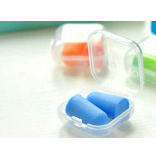 1 пара протектор для путешествий беруши шумоподавитель для сна мягкие поролоновые Заглушки для ушей Горячая