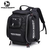 ROCK BIKER Waterproof Black Color Helmet bag motorcycle luggage bags for BMW HONDA YAMAHA motocross fuel tank bag