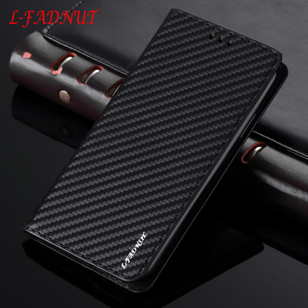 L-FADNUT Carbon Fiber <font><b>Flip</b></font> Leather <font><b>Case</b></font> For Huawei P20 <font><b>Lite</b></font> P20 Pro Business Wallet Cover For Huawei <font><b>Mate</b></font> 20 Pro <font><b>Mate</b></font> <font><b>10</b></font> <font><b>Lite</b></font> image