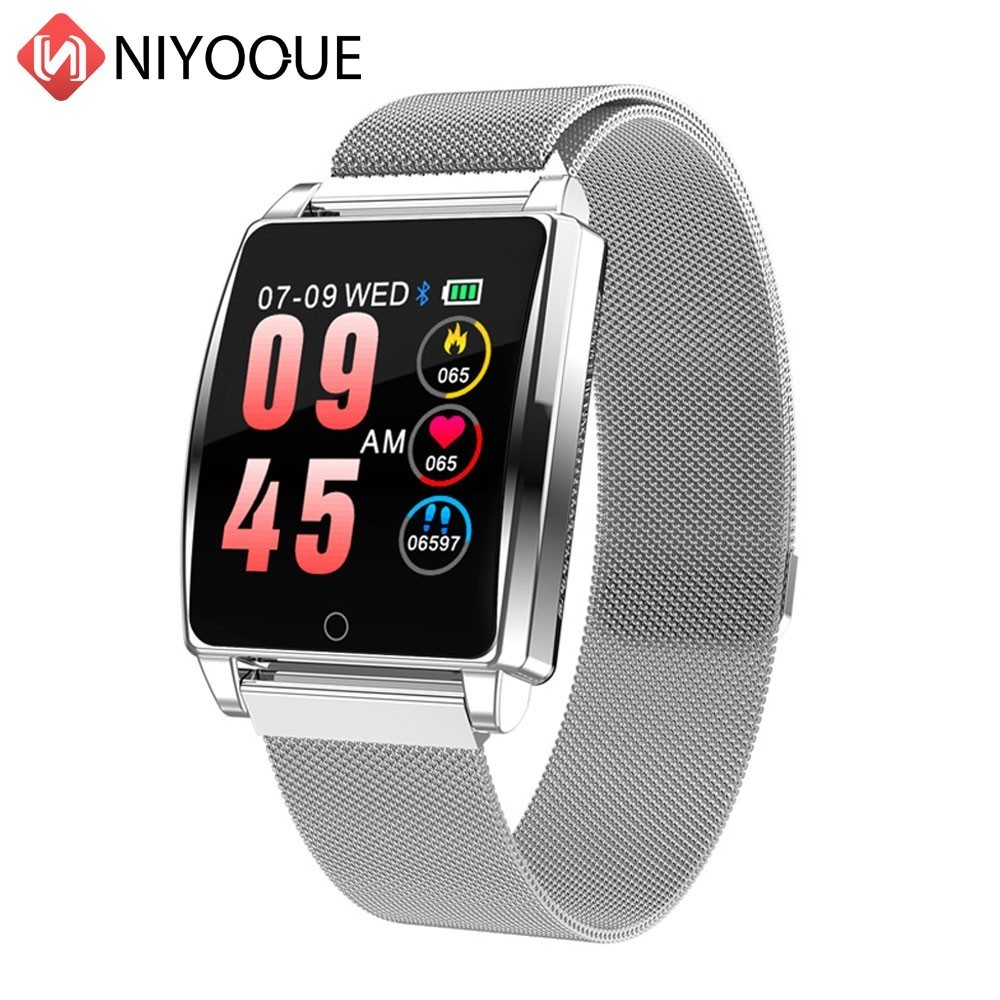 Smart Watch R17 Heart Rate Smart Bracelet Blood Pressure Watch Sleep Monitor Fitness Tracker Waterproof Color Screen Sports Band