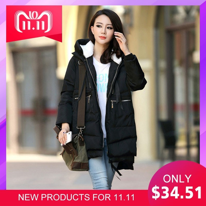Winter Clothes Maternity Down Coat Warm Pregnancy Cotton-padded Woman Clothing Pregnant Jacket M-5XL Plus Size Thick Overcoat winter jacket women cotton wadded jacket parkas female warm cotton coat long overcoat hoodies plus size m 3xl campera mz1890g
