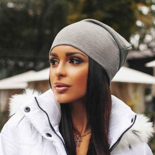 للجنسين إمرأة رجل محبوك حك الشتاء الدافئة تزلج الكروشيه ترهل قبعة كاب قبعة
