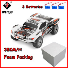 WLtoys A969-A 1:18 RC Car 4WD 4CH High Speed Remote Control SUV 35KM/h Off Road Racing Car 2.4GHz RC Monster Truck ZLRC цена в Москве и Питере