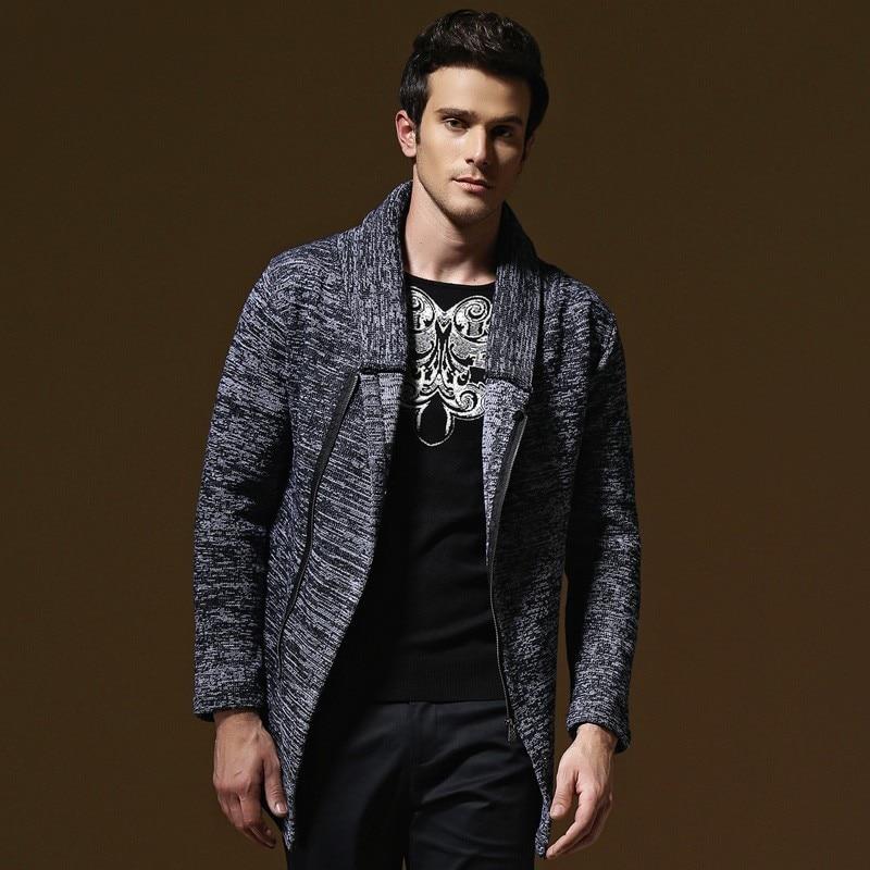 Fashion Men's Cardigan Sweater Designer Casual Young Men Knitting Sweater Coat Fall Winter Clothing