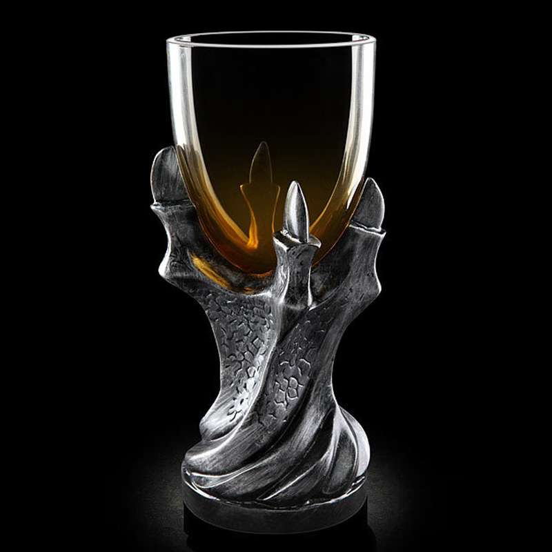 Game of Thrones 3D Dragon Claw Mug Goblet Creative Glass Cup Beer Wine Juice Gothic Cups