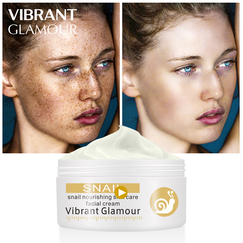 Repairs Snail Face Cream Remove Wrinkles Acnes Cream Whitening Pigment Spots Brighten Skin Wrinkle Control Oil in Facial Self Tanners Bronzers from Beauty Health