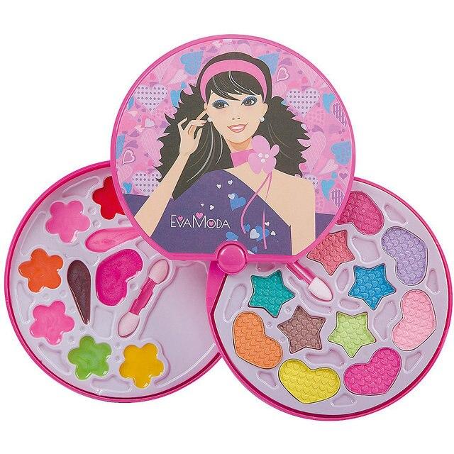 Детская декоративная косметика Bondibon Eva Moda Косметичка-диск, 2-х уровневая