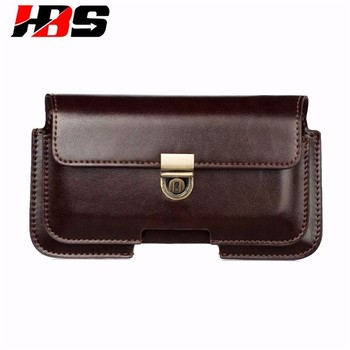 Phone Case For Xiaomi Redmi 2 3 4 4X 5 Plus Note 3 4 4A 5 5A 6 Double Pockets Bag Hook Loop Belt Pouch Holster PU Leather Cover
