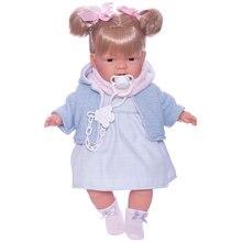 Кукла Llorens Жоэлле в голубом 38 см, со звуком