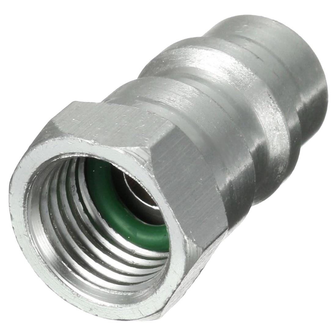 Eleg-r12 R22 R502 Zu R134a Schnelle Schnelle Umwandlung Adapter Ventil 1/4 zu 8v1 Gewinde Uns Modische Und Attraktive Pakete Sanitär Ventil