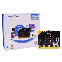 Micro: Kit de iniciación Bit Kit de aprendizaje Micro Bit tablero gráfico programable juguete para niños adultos chicos con Manual de guía