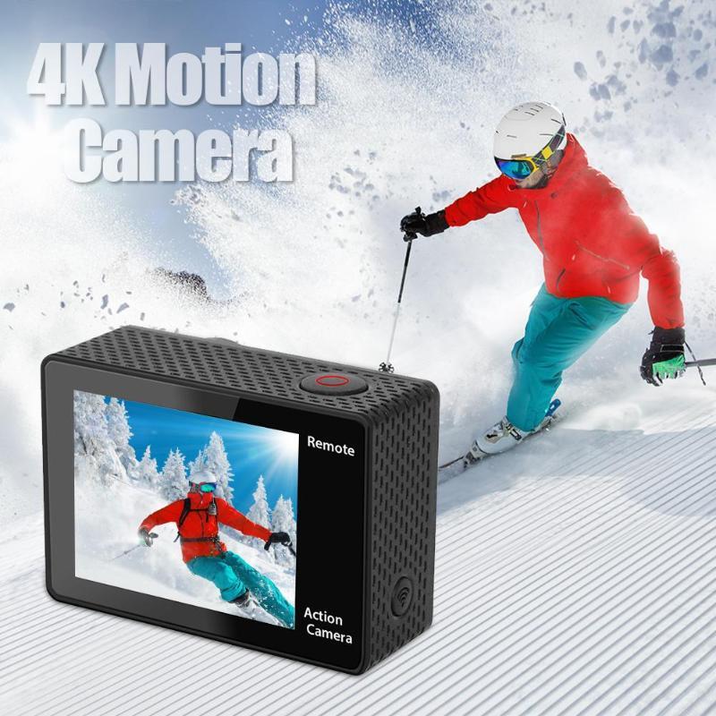 Ultra HD 4 K WiFi caméra étanche 1080 P cyclisme escalade sous-marine caméras normales Photo DVR enregistreur vidéo caméscope