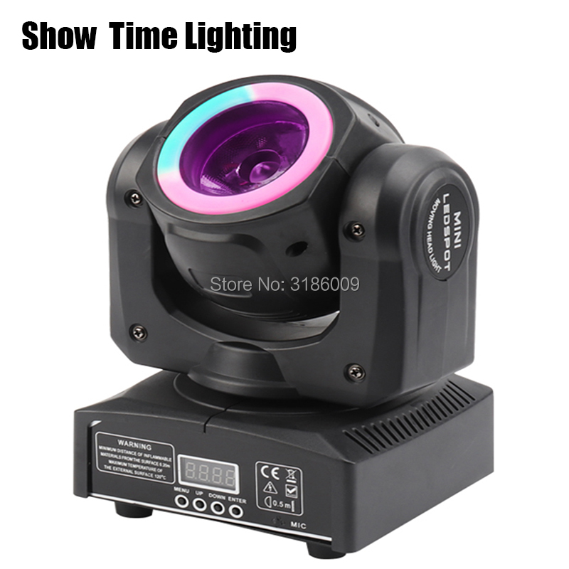 Good quality Mini Led beam moving head with led circle  60W spot wash RGBW 4 In 1 stage effect DMX 512 Control KTV DJ Party liteGood quality Mini Led beam moving head with led circle  60W spot wash RGBW 4 In 1 stage effect DMX 512 Control KTV DJ Party lite