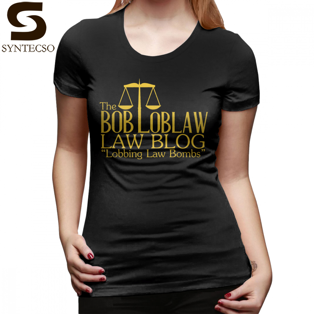 Therapist T-Shirt The Bob Loblaw Low Blog T Shirt Street Style Plus Size Women tshirt Short-Sleeve Green Print Ladies Tee Shirt image