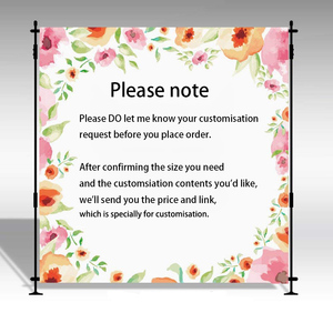 Image 5 - Mehofoto Wild One Birthday Photo Background Baby Party Banner Backdrop Newborn Gold Sequin Customized Backdrops for Studio Shoot