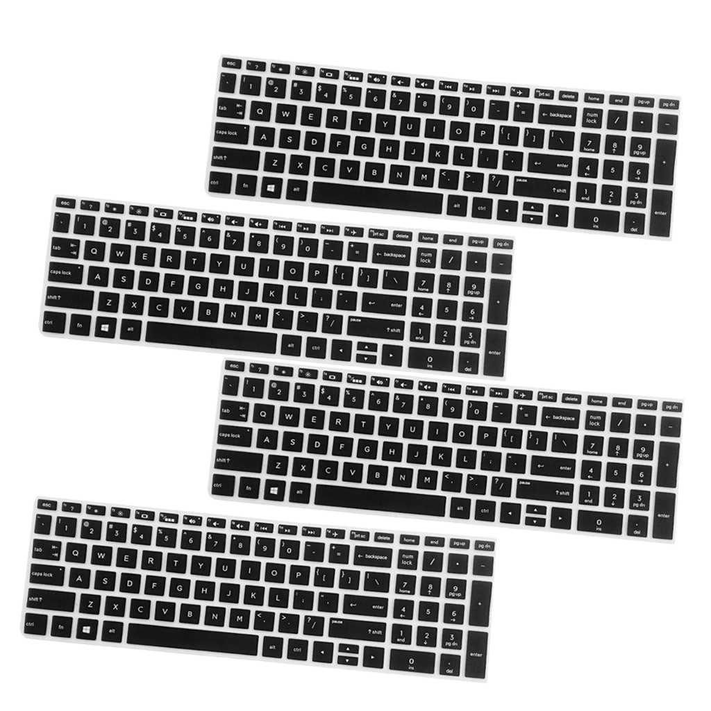 4 шт. Высокая невидимая защитная обложка для клавиатуры Крышка для hp 15,6 ''BF ноутбука
