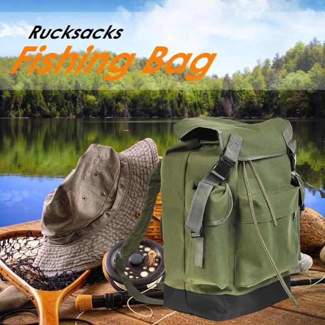 Best Price Outdoor Fishing Backpack Trekking Sport Travel Rucksacks Large Capacity Camping Hiking 70L Fishing Bags Fishing Accessories
