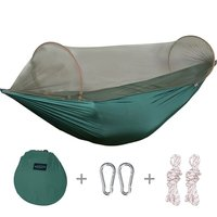 Smartlife Portable & Foldable Camping Hammock Mosquito Net Hammock Tent Hiking Camping Hammock and Tent (110x50 Inch)